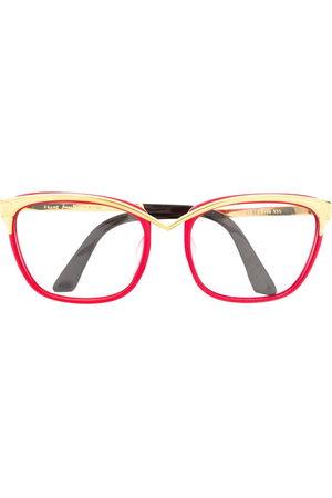 Thierry Mugler 1980s cat-eye glasses