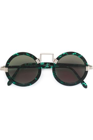 Jean Paul Gaultier Sunglasses - 1980s round-frame marbled sunglasses