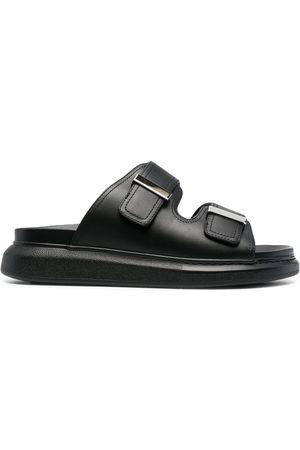 Alexander McQueen Oversize leather sandals