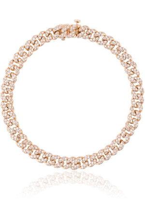 Shay Mini Pave Link diamond bracelet