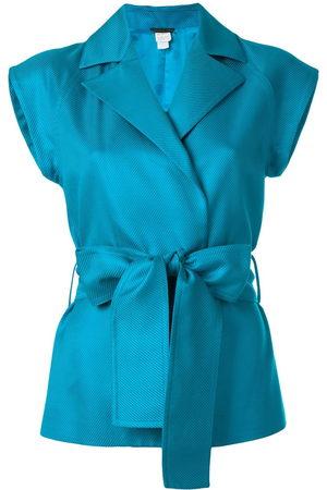 VERSACE Women Blazers - 1980s belted waistcoat
