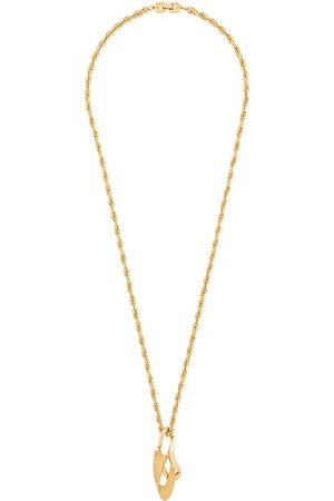 Givenchy Pre-Owned 1980s pointy pendant long necklace