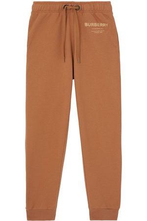 Burberry Horseferry print jogging pants