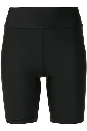 The Upside Women Shorts - Matte high-waisted cycling shorts