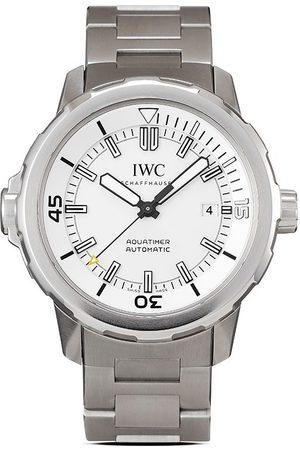IWC SCHAFFHAUSEN Men Watches - 2015 pre-owned Aquatimer 42mm