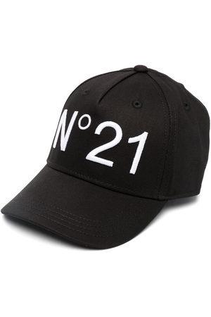 Nº21 Kids Logo-print baseball cap