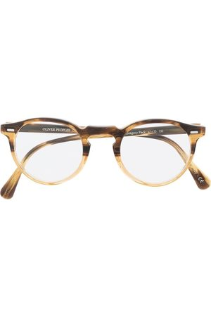 Oliver Peoples Gregory Peck round glasses