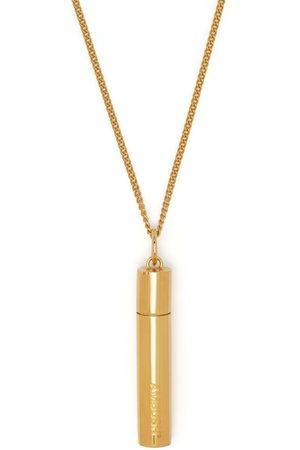 AMBUSH Pill case silver necklace