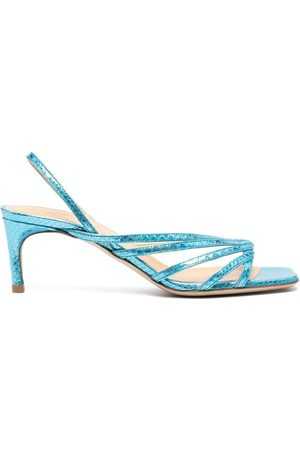 GIANNICO Embossed strappy sandals