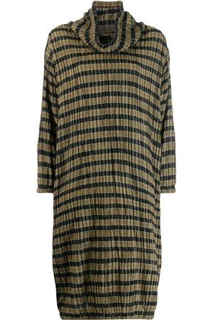 Issey Miyake 1980's check dress