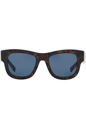 Dolce & Gabbana Square-frame tortoiseshell-effect sunglasses