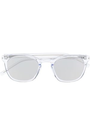 Saint Laurent Square-frame tinted sunglasses - Neutrals