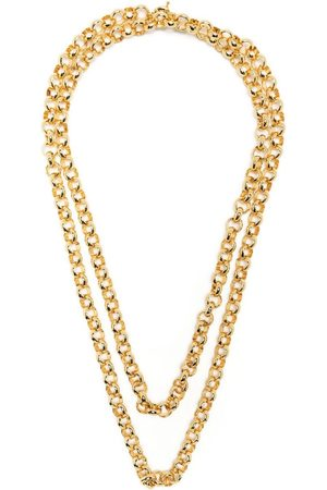 FEDERICA TOSI Double chain necklace