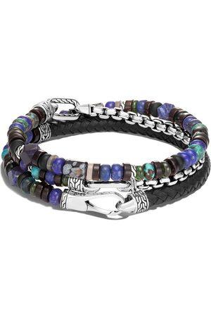 John Hardy Classic Chain beaded triple-wrap bracelet
