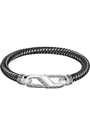 John Hardy Classic Chain steel cord carabiner bracelet
