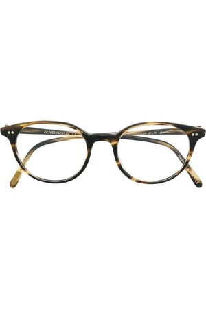 Oliver Peoples Mikett square-frame glasses - Neutrals