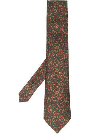 ETRO Men Bow Ties - Paisley-print tie