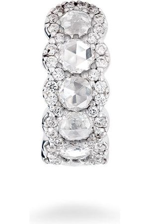 David Morris Rose Cut diamond ear cuff