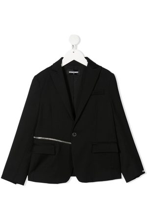 Dsquared2 Zip detail tailored blazer