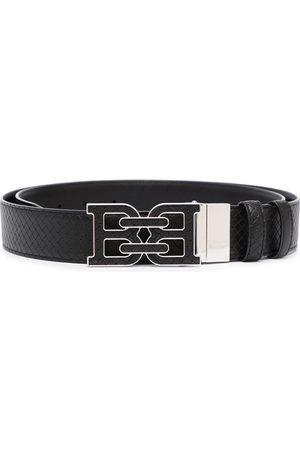 Bally Men Belts - Logo-buckle leather belt