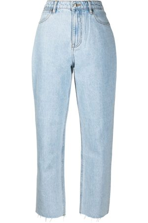 12 STOREEZ High-waisted straight jeans