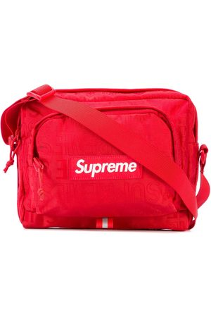 Supreme Women Shoulder Bags - Logo patch shoulder bag