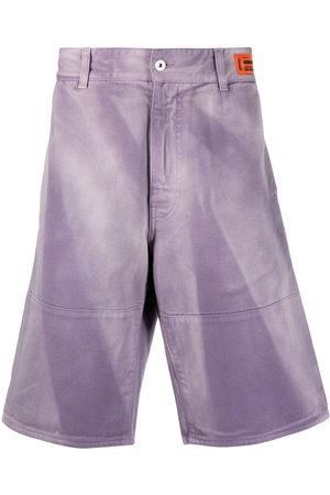 Heron Preston Faded effect bermuda shorts