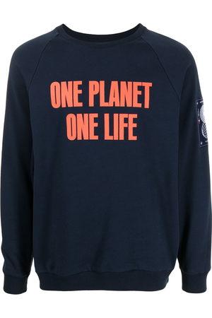 """Ports V """"ONE PLANET ONE LIFE"""" logo-print sweatshirt"""