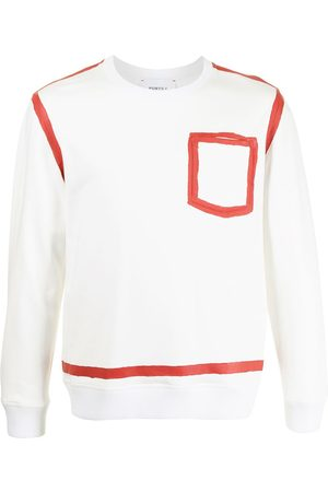 Ports V Contrast sweatshirt