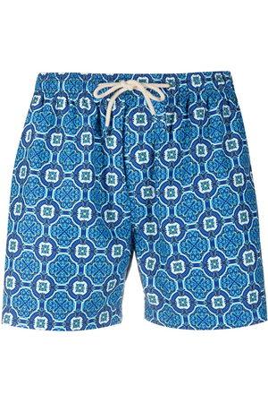 PENINSULA SWIMWEAR Poltu geometric swim shorts