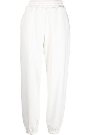 12 STOREEZ High-waisted press crease trackpants