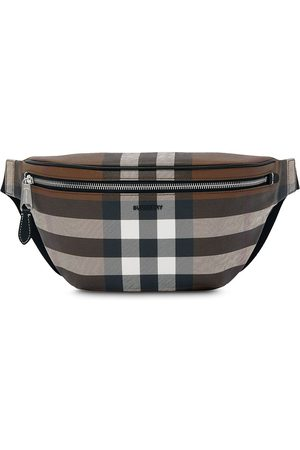 Burberry Men Belts - Check pattern belt bag