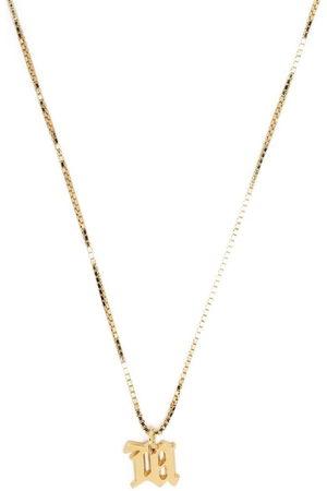 MISBHV Letter charm necklace