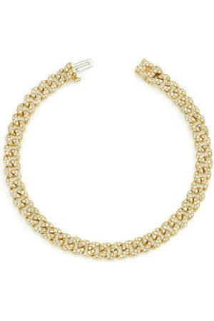 Shay 18kt yellow diamond mini pavé bracelet