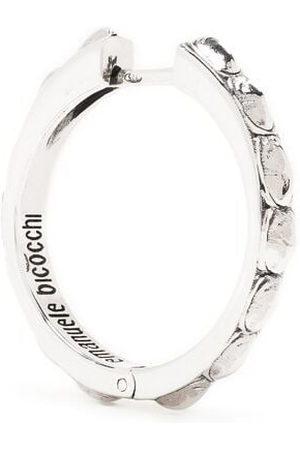 EMANUELE BICOCCHI Croc crystal-embellished earring