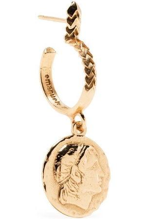 EMANUELE BICOCCHI Coin-pendant earrings