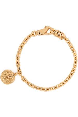 EMANUELE BICOCCHI Coin-pendant chain-link bracelet