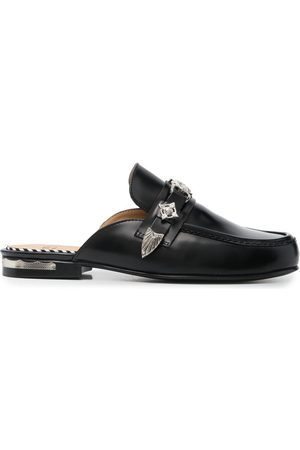 TOGA PULLA Embossed-coin mules