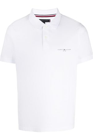 Tommy Hilfiger Logo print cotton polo shirt