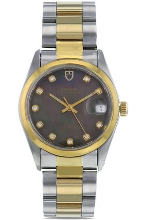 TUDOR 2000s pre-owned Oyster Prince 34mm - Neutrals
