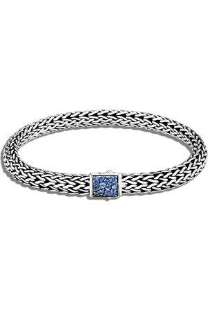 John Hardy Classic Chain 6.5mm reversible Icon sapphire bracelet