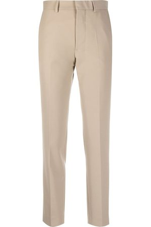 Ami Straight-leg tailored trousers - Neutrals
