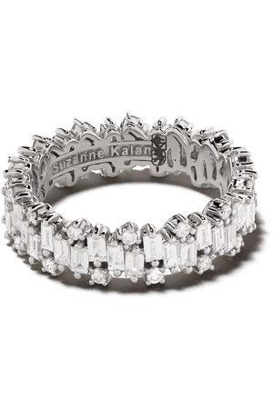 Suzanne Kalan 18kt Shimmer diamond eternity band