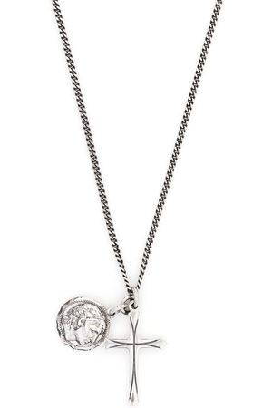 EMANUELE BICOCCHI Necklaces - Coin cross pendant necklace