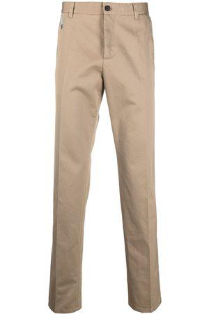 VERSACE Gabardine chino trousers - Neutrals