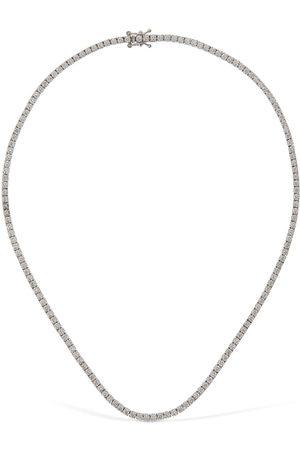 VANZI Women Necklaces - 18kt Gold & Diamond Tennis Necklace