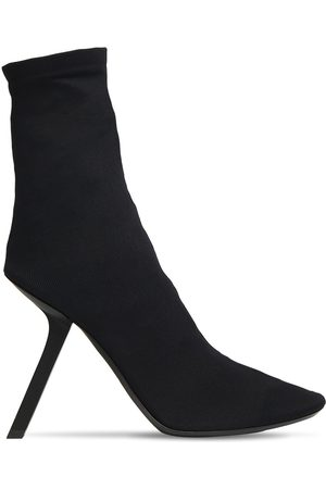 Balenciaga 110mm Stretch Ankle Boots