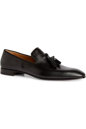 Christian Louboutin Dandelion Tassel Leather Loafers