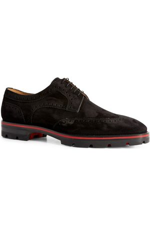 Christian Louboutin Laurlaf Suede Brogues