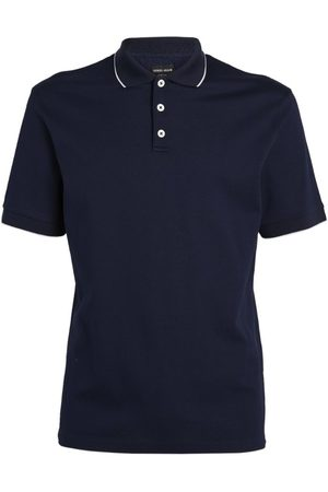 Armani Cotton Polo Shirt